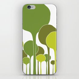 Green palette iPhone Skin