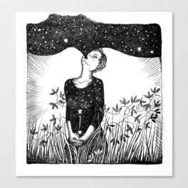 Full of Stars Canvas Print