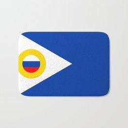 chukotka flag Bath Mat