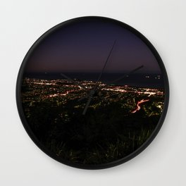 Wollongong from Mount Keira Sumit Wall Clock
