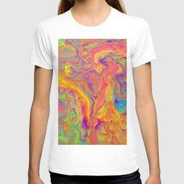 Unicorn psychedelic ice cream T-shirt