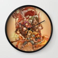 Final Fantasy IX Wall Clock