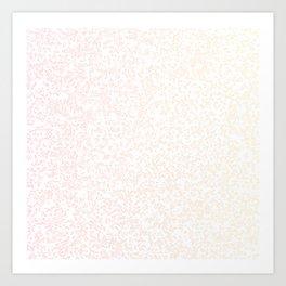 Maps (colour) Art Print