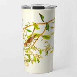 Lesser Red-Poll Bird Travel Mug