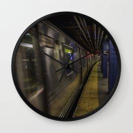 Late night train rides. Wall Clock