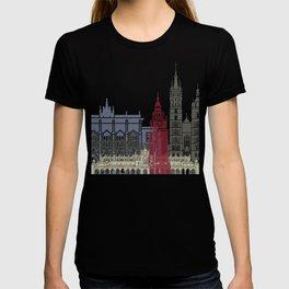 Krakow skyline poster T-shirt