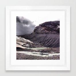 Misty Pond Framed Art Print
