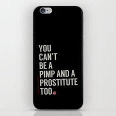 White Stripes iPhone & iPod Skin