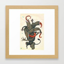 Monster-1A Framed Art Print
