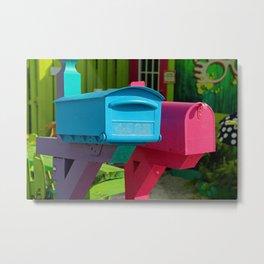 Matlacha Mail Metal Print