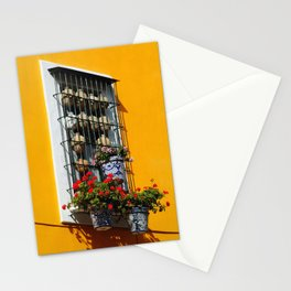 Balconies of Puebla  Stationery Cards