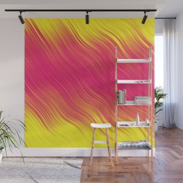 Stripes Wave Pattern 10 pyi Wall Mural