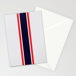 Silver Racer Stationery Cards