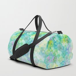 Enchanted Spring Floral Abstract Duffle Bag