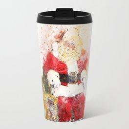 Merry Christmas from Classic Santa Travel Mug