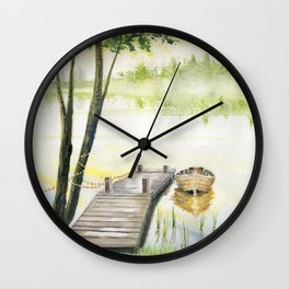 A Little Peace of Mind Wall Clock