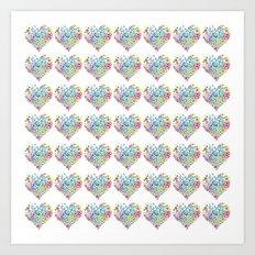 Inner Hearts Art Print