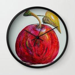 Kaleidoscope Apple or APPLE FOR THE TEACHER Wall Clock