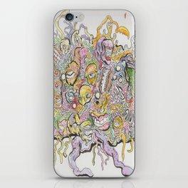 funky horror iPhone Skin