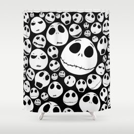 Jack expression Shower Curtain