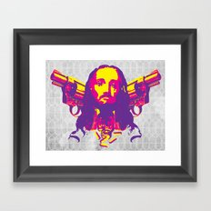 Speed Demon Framed Art Print