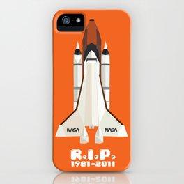 RIP, space shuttle iPhone Case
