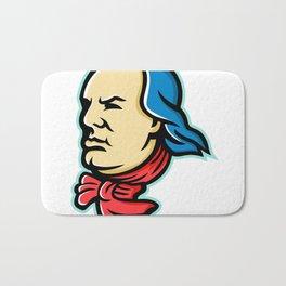 Benjamin Franklin Mascot Bath Mat