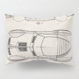 Classic Car Patent - American Car Art - Antique Pillow Sham
