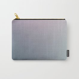 WATER WALL - Minimal Plain Soft Mood Color Blend Prints Carry-All Pouch
