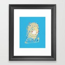 Discreet Compliment Framed Art Print