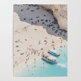 to the beach Poster