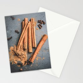 Cinnamon and anise art #food #stilllife Stationery Cards