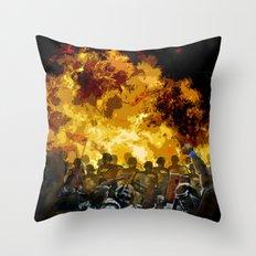 Oppression Throw Pillow