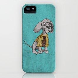 Dapper Bubba iPhone Case