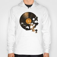 autumn Hoodies featuring Autumn Song - colour option by Terry Fan
