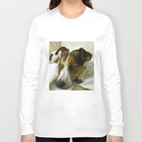 jack russell Long Sleeve T-shirts featuring jack russell by Brmbrmba27