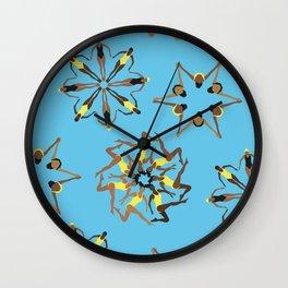 Synchronized Swimming Wall Clock