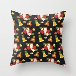 HAWAIIAN SUSAN SARANDON  Throw Pillow