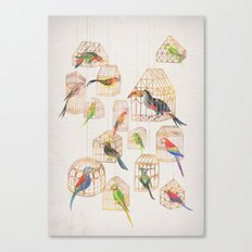 Architectural Aviary Canvas Print