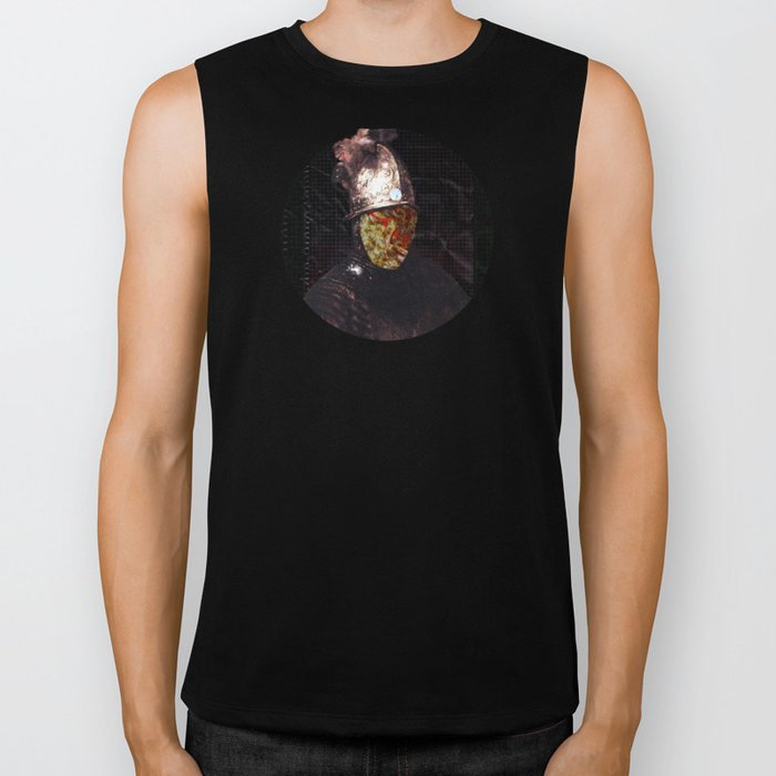 Rembrantds Golden Helmet Collage 1 Biker Tank