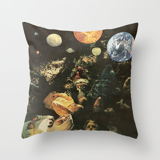 MAPS Throw Pillow