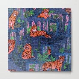 Labyrinth of the Tiger King II Metal Print
