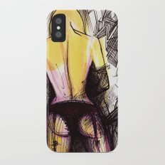 Girl iPhone X Slim Case