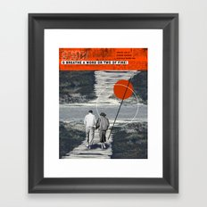O breathe a word or two of fire Framed Art Print