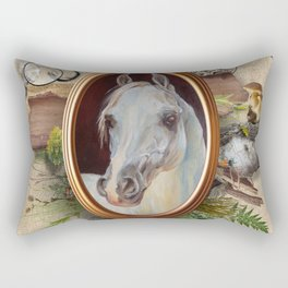 Spring collection in the Maximalist style Rectangular Pillow