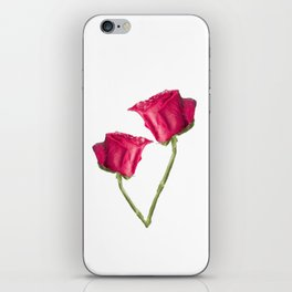 Red Roses Photo iPhone Skin