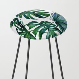 Tropical Palm Leaves Classic Counter Stool