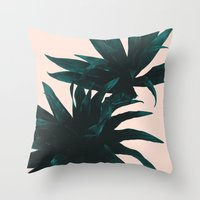 fly Throw Pillows featuring Fly away by Hanna Kastl-Lungberg