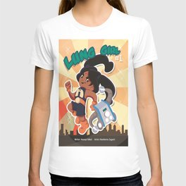 Lung Girl Cover T-shirt