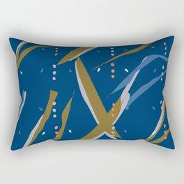 Seaweed Graphic Pattern JFS Rectangular Pillow